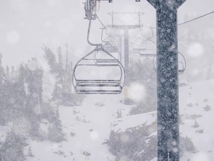 Mammoth new snow
