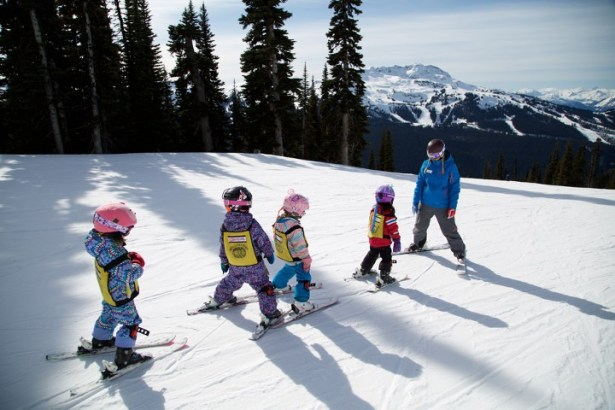 Upgrade the kids' experience with a day or two of Adventure Camp. | Photo: Whistler Blackcomb/Toshi Kawano