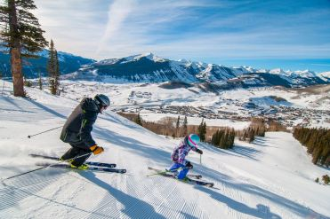 Take in the afternoon rays before you say goodbye to the Colorado sunshine. | Photo: Crested Butte Mountain Resort