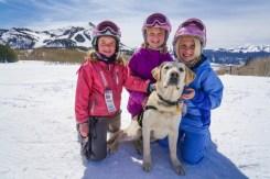 crested butte dog sledding