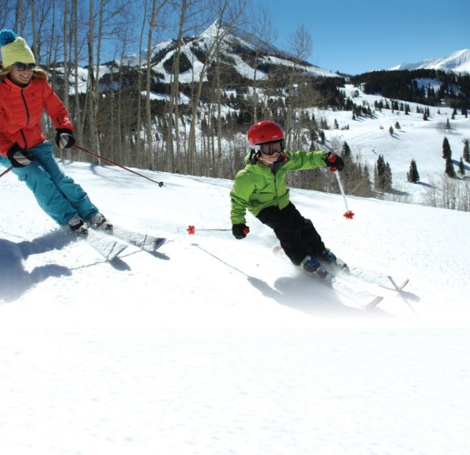 crested butte family ski vacation