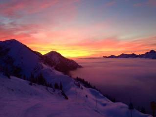 Sunrise at Kicking Horse | Photo: Lisa Roddick, Kicking Horse Mountain Resort