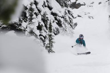 Jan. 13 was a day for storm skiing | Photo: Ian Houghton, Revelstoke Mountain Resort