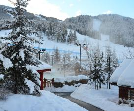 The Panorama Springs Pools are the perfect spot for an apres-ski steam and soak | Photo: Panorama Mountain Resort