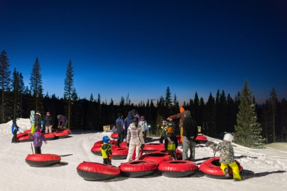 Snowmass snow tubing, Elk Camp tubing