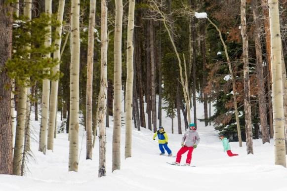 Snowboarding lessons at Aspen Snowmass. | Photo: Aspen Snowmass