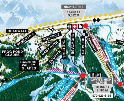 new high alpine lift