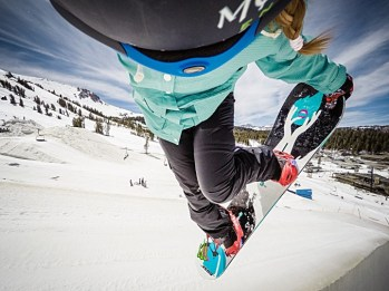 Freestyling at Mammoth Mountain. | Photo: Mammoth Mountain