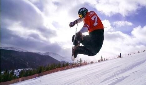 Props for the Elway jersey! OG! | Photo: Winter Park Resort