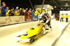 Whistler bobsled, whilster bobsleigh