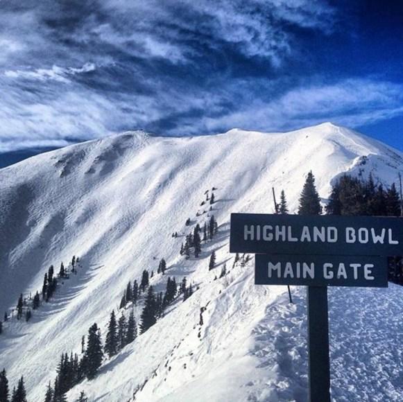 Highland Bowl, Aspen bowls, Snowmass bowls