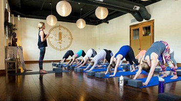 Wanderlust Yoga in Squaw Valley, Calif. offers classes taught by nationally renowned instructors. | Photo: Squaw Valley