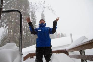 Sugar Bowl Resort snowfall.