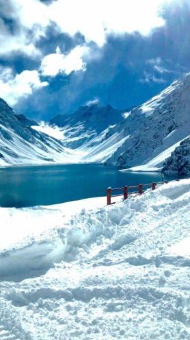 snowstorm Portillo Chile