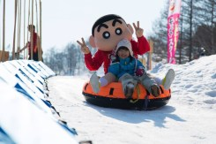 Rusutsu family activities, Rusutsu snow tubung