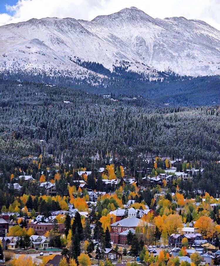 September snow in Breckenridge