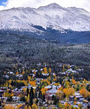 September snow in Breckenridge