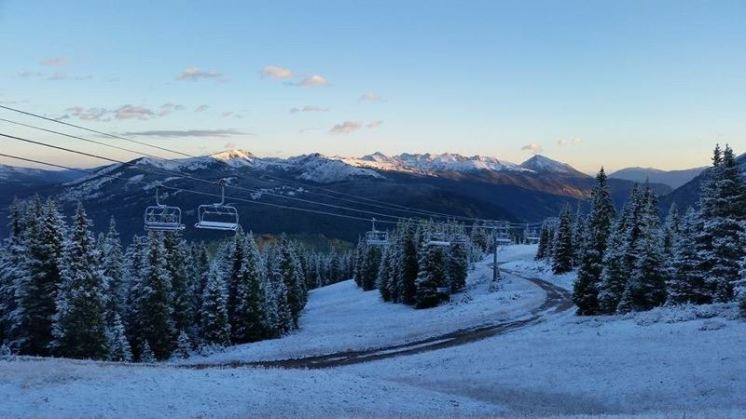 Copper Mountain woke up to a beautiful dusting on Sept. 15. | Photo: Mike Looney, Copper Mountain taken on Sept. 15, 2016.