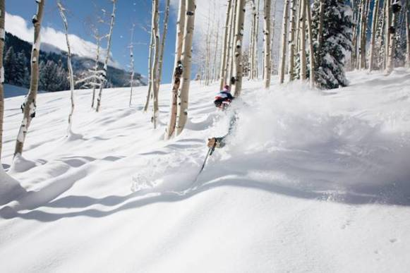 crested butte colorado snow skiing