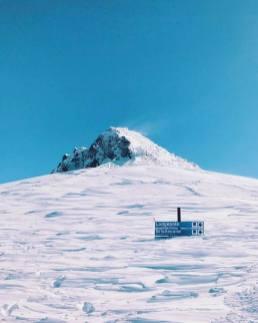 Mammoth snow
