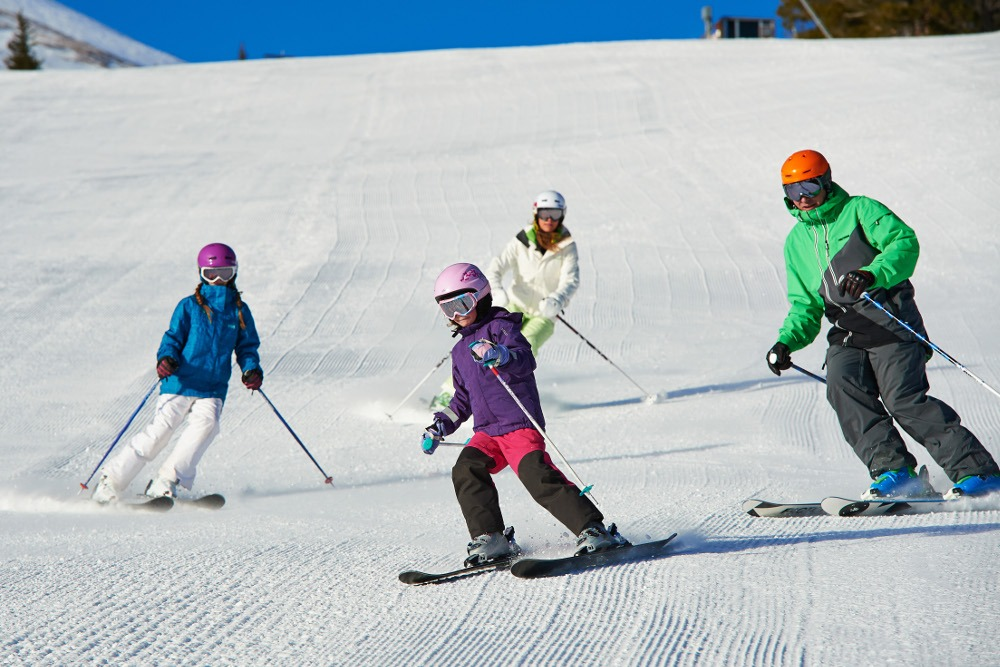 Skiing with kids Breckenridge, CO