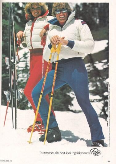 70s ski ad