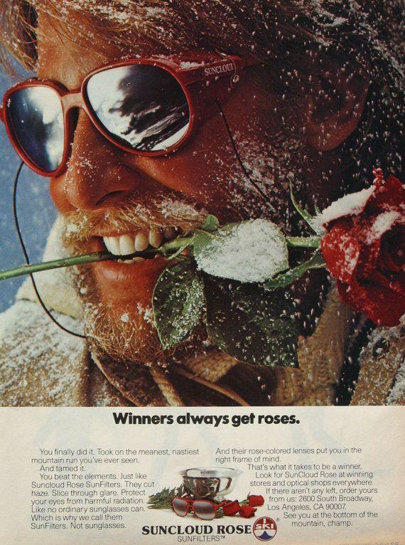 70s aviator sunglasses skiing