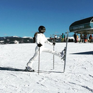 Kourtney Kardashian skiing in Buttermilk, Kourtney Kardashian skiing in Aspen