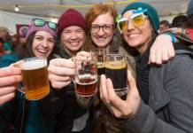 craft brew fest at Red Mountain Ski Resort