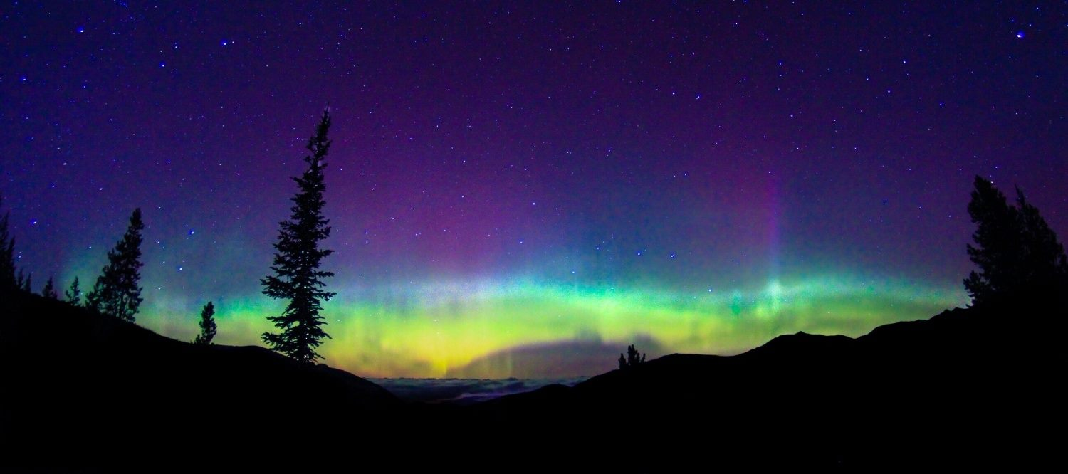the nortern lights in canada