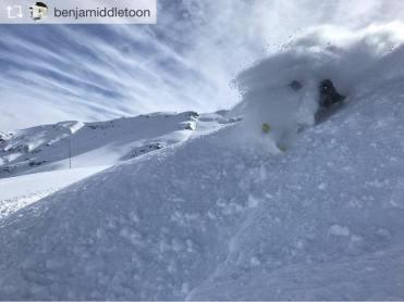 skiing in valle nevado