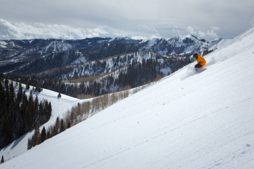 park city powder, park city powder skiing