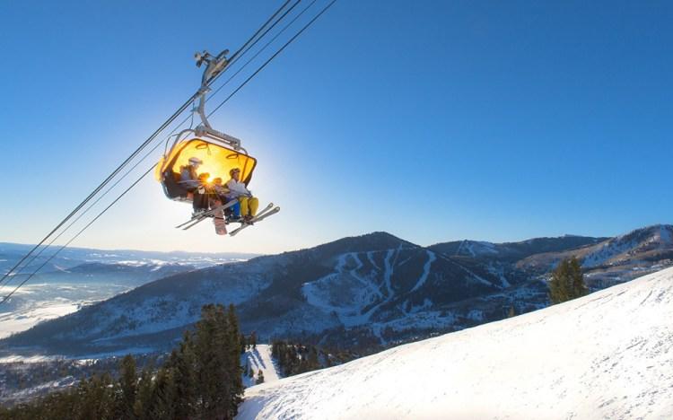 family ski trip park city