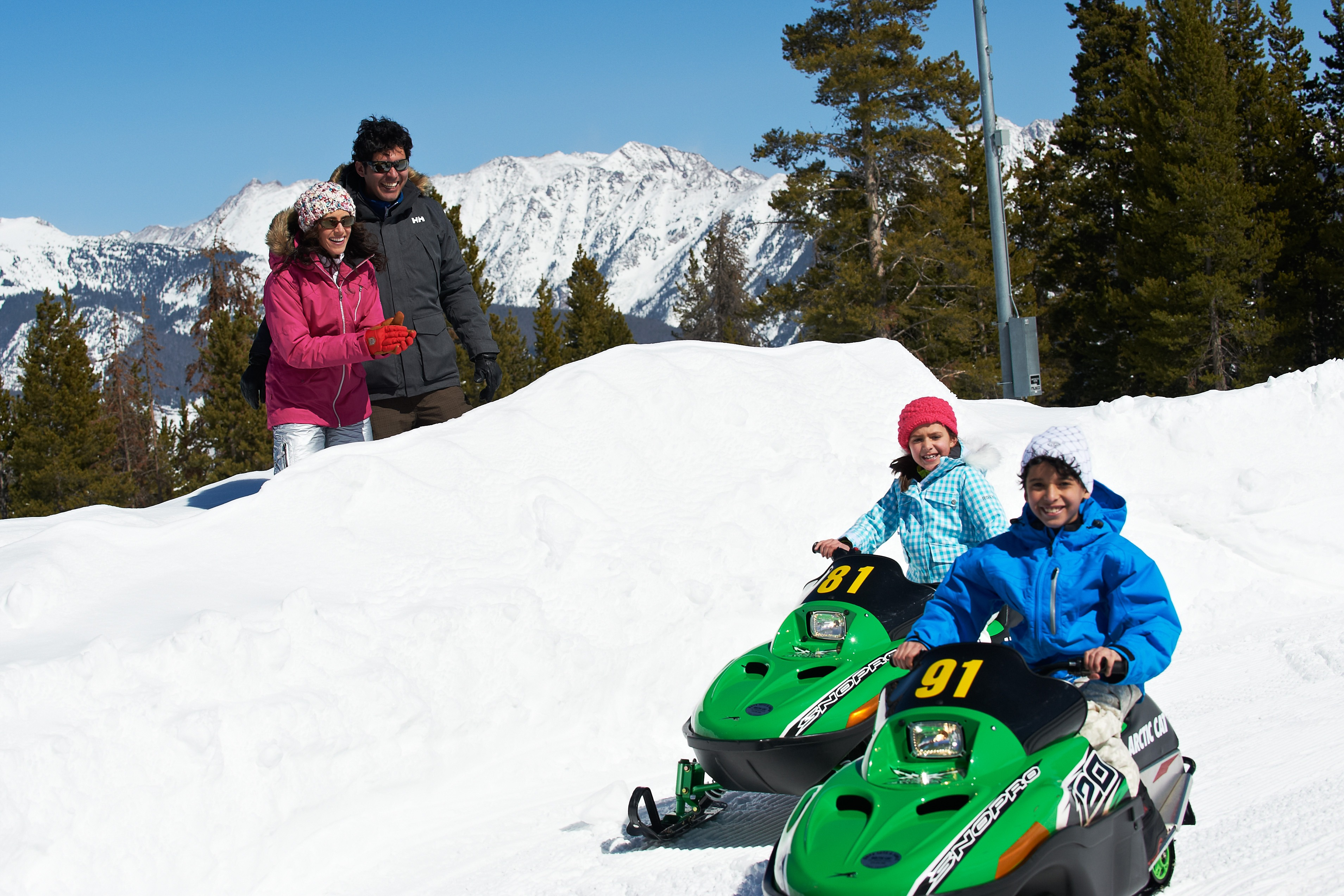 adventure ridge snowmobiles