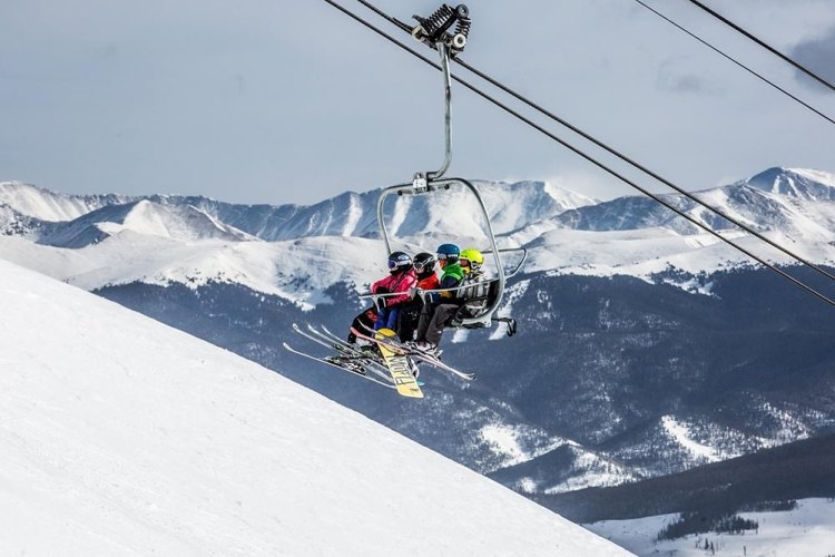 breckenridge ski resort, colorado closing day