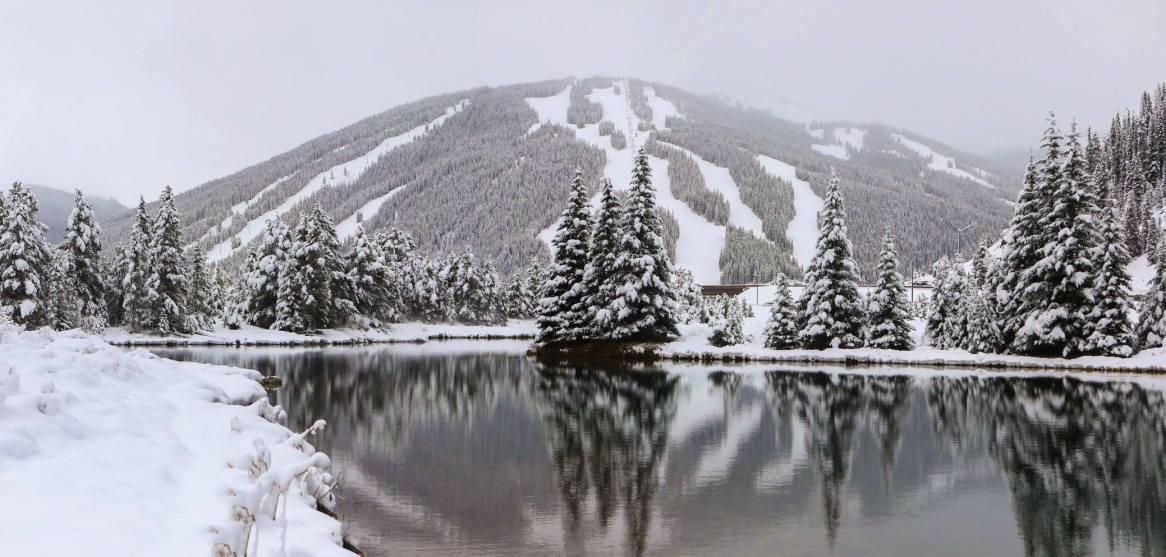 October Snow At Colorado Ski Resorts