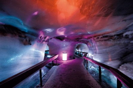 engelberg titlis, swiss ski guide, skiing in the swiss alps, titlis glacier cave
