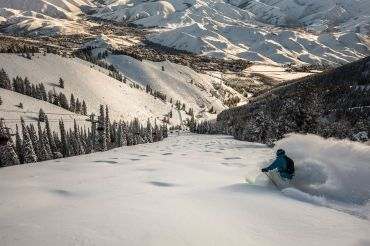 Sun Valley La Nina, resorts with most snow la nina