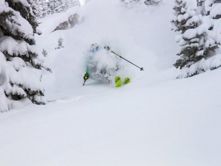 jackson hole tree skiing, jackson hole