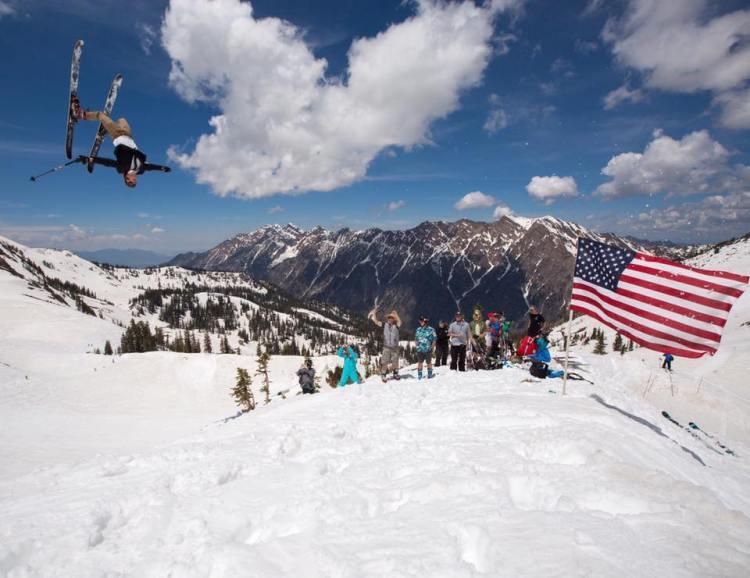 snowbird april skiing, snowbird spring skiing,