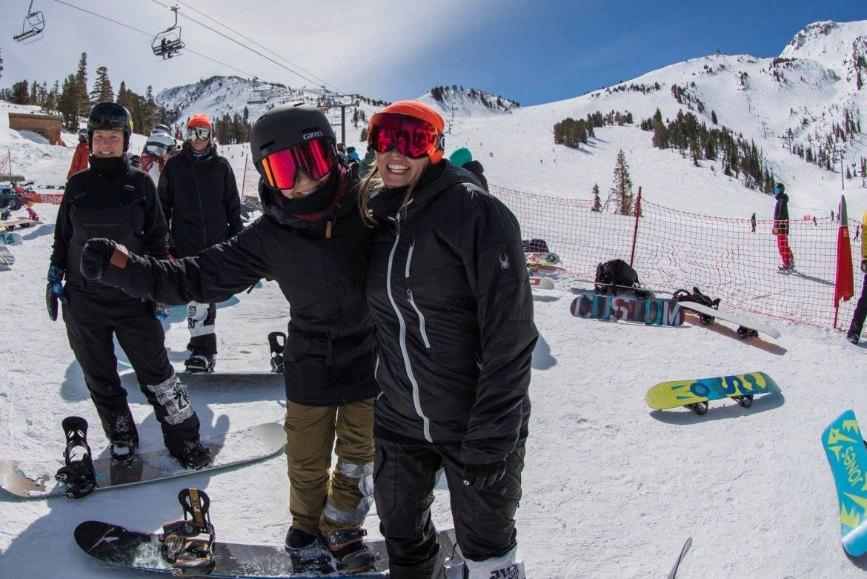 mammoth mountain april skiing