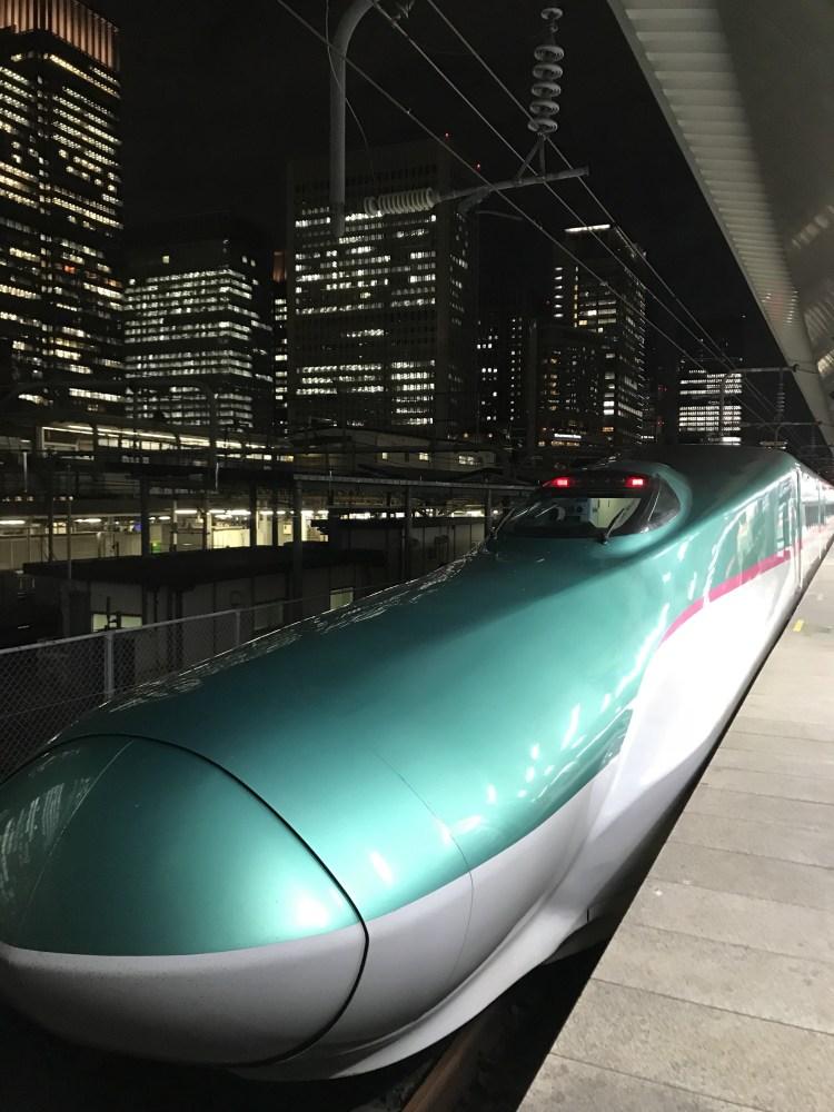 japanese alps, hokkaido bullet train