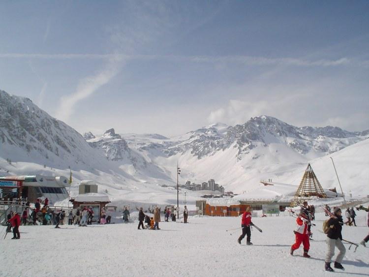 Tignes spring skiing