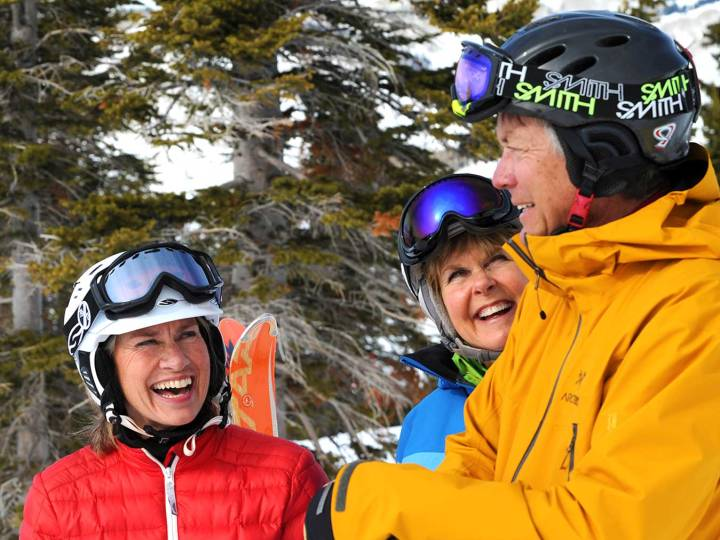 Best resorts for senior skiers