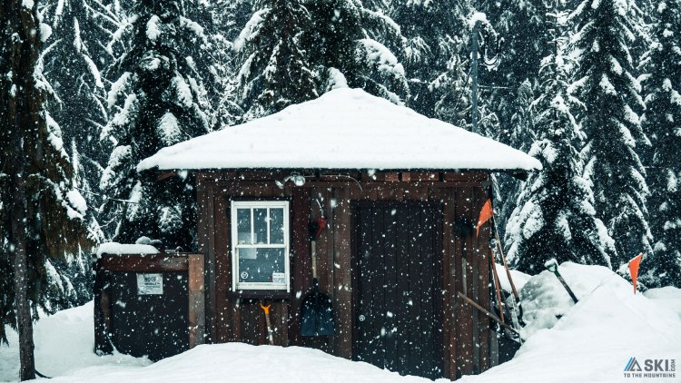 snow in Whistler