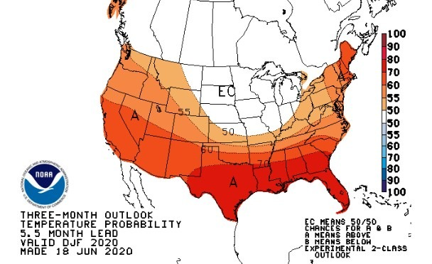 Noaa Long Term Winter Forecast 2020 2021 55 Chance Of La Nina,Wildflowers That Bloom In The Fall