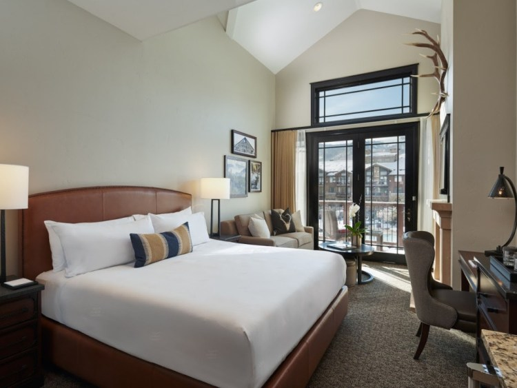 King size room Waldorf Astoria Park City