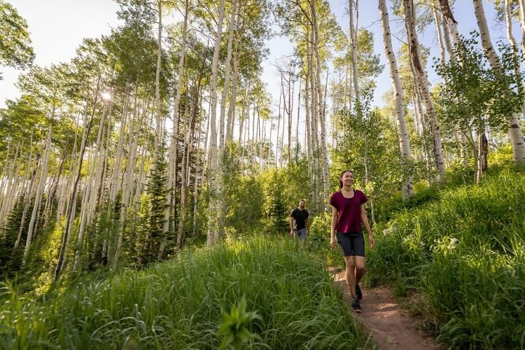 Hiking summer Park City lodging
