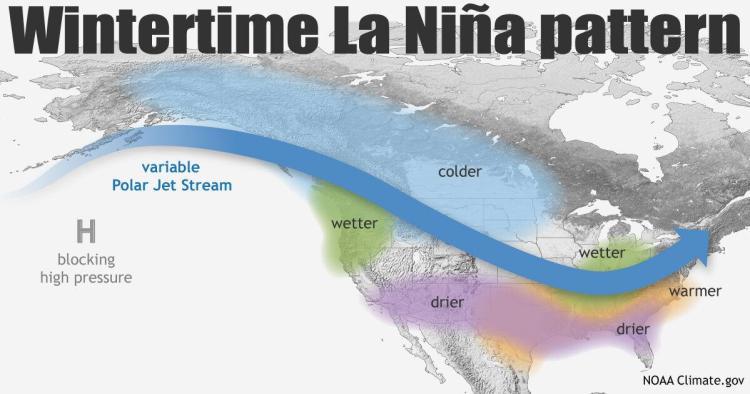 winter forecast 21/22 | La Nina