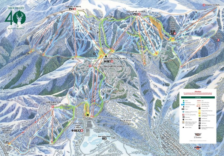 Ski.com guide to Deer Valley Resort